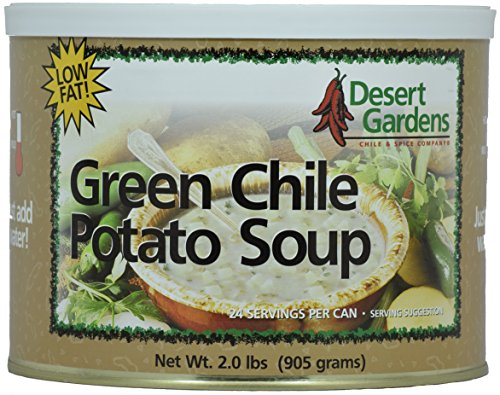 Green Chili Potato Soup (Desert Gardens Green Chile Potato Soup - 24 Serving Canister)