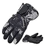 Highcamp Kids Boy Girl Waterproof Ski Snow Gloves Cold Weather Warm Winter Gloves
