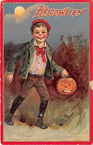 Raphael Tuck & Sons Series no. 174 Halloween Postcard Old Vintage Post Card ()