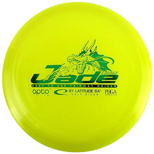 - Latitude 64 Opto Line Jade Light Fairway Driver Golf Disc [Colors May Vary] - 145-159g