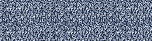 Carson Dellosa You-Nique Navy Feather Straight Borders (108251)