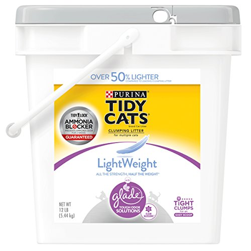Save 20% Blossom - Purina Tidy Cats LightWeight Glade Tough Odor Solutions Clumping Cat Litter