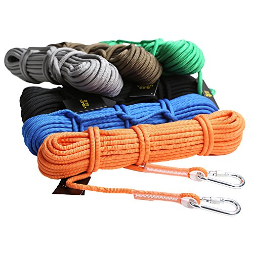 12KN-95mm-10Meters-Safety-Outdoor-Rock-Tree-Climbing-Sling-Rappelling-Protection-Rope-Rescue-Gear-Cord-Various-Colors