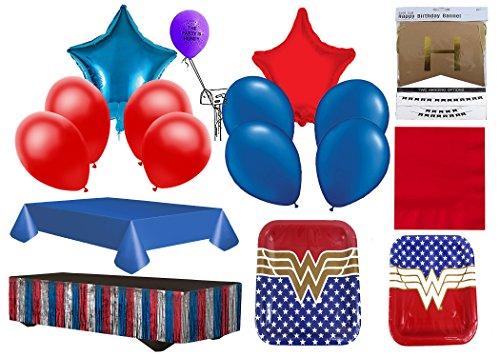 Wonder Woman 8 People Party Pack