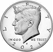 2021 S Silver Proof Kennedy Half Dollar Half Dollar Proof