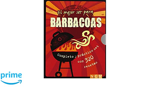 El mejor set para barbacoas: Completo y práctico set con 320 recetas: Amazon.es: Vv.Aa.: Libros