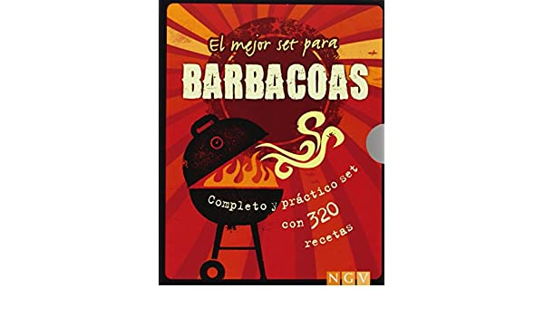 MEJOR SET PARA BARBACOAS.(COMPLETO Y PRACTICO).(NGV): 9783625003755: Amazon.com: Books