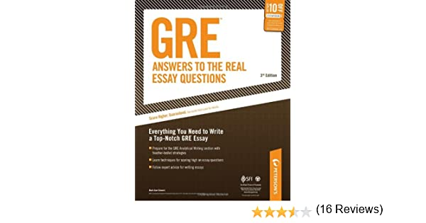 gre essay questions