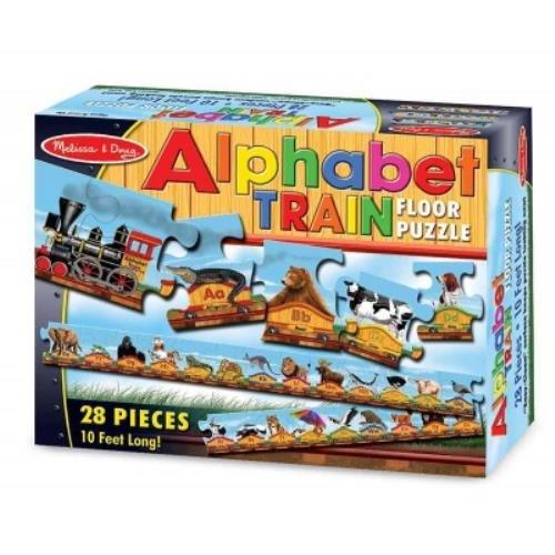 Alphabet Train: 28 Pieces Floor
