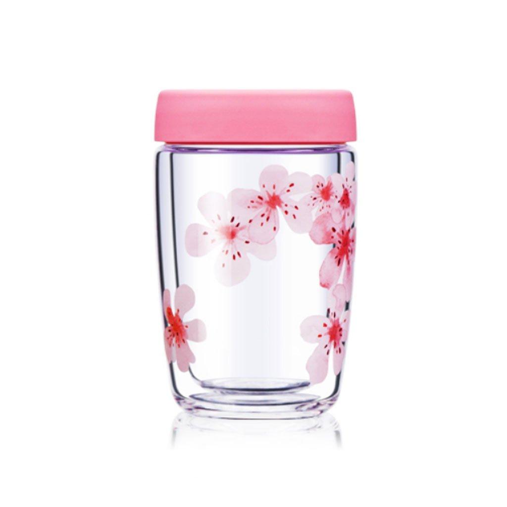 Trinkbecher Doppelglas Becher Tasse Koreanische Kreative Tasse Hause Isolierung Tasse Glas Tee Tasse Tee Tasse