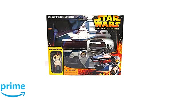 Star Wars Revenge of the Sith Obi-Wans Jedi Starfighter: Amazon.es: Juguetes y juegos