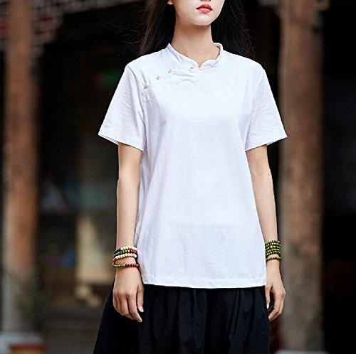 Lazutom Lazutom Lazutom Donna White Camicia Donna Camicia Camicia White wCzRX7qEn