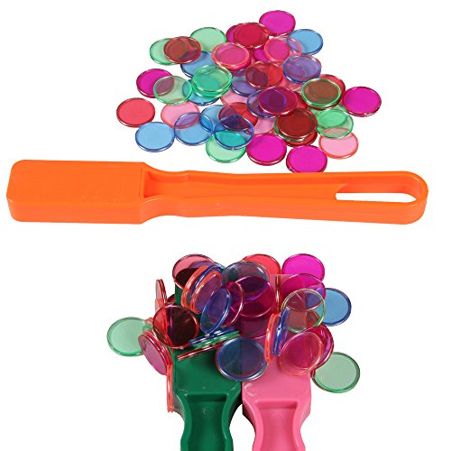(hand2mind Magnetic Bingo Kit with 3 Magnetic Wands and 150 Magnetic Chips)