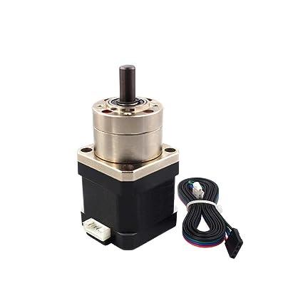 Aibecy Motor paso a paso de metal 17HS4401S-PG518 Engranaje del ...