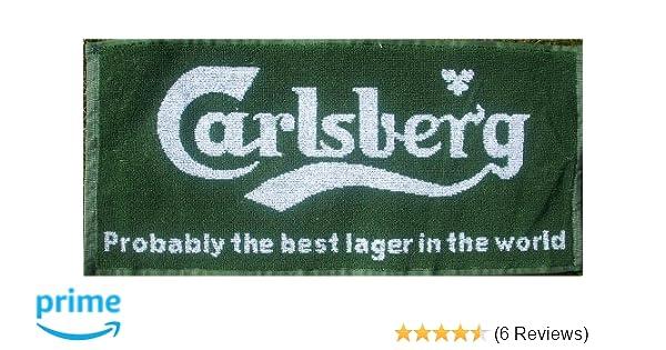 Carlsberg Probably.. pp Cotton Bar Towel