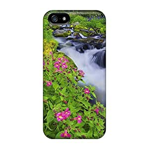 Luoxunmobile333 Cases Covers Protector Specially Made For Case Ipod Touch 4 Cover Summer Wildflowers