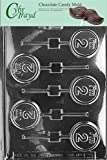 Cybrtrayd L024  I'm 2 Lolly Chocolate Candy Mold with Exclusive Cybrtrayd Copyrighted Chocolate Molding Instructions