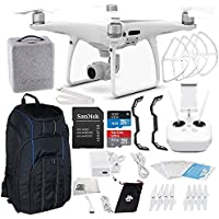 DJI Phantom 4 PRO Quadcopter Starters Pro Backpack Bundle