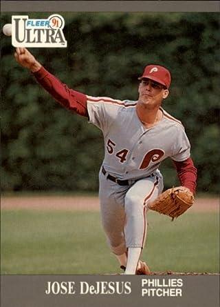Amazoncom 1991 Ultra Baseball Card 261 Jose Dejesus Mint