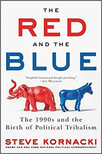 amazon the red and the blue the 1990s and the birth of political