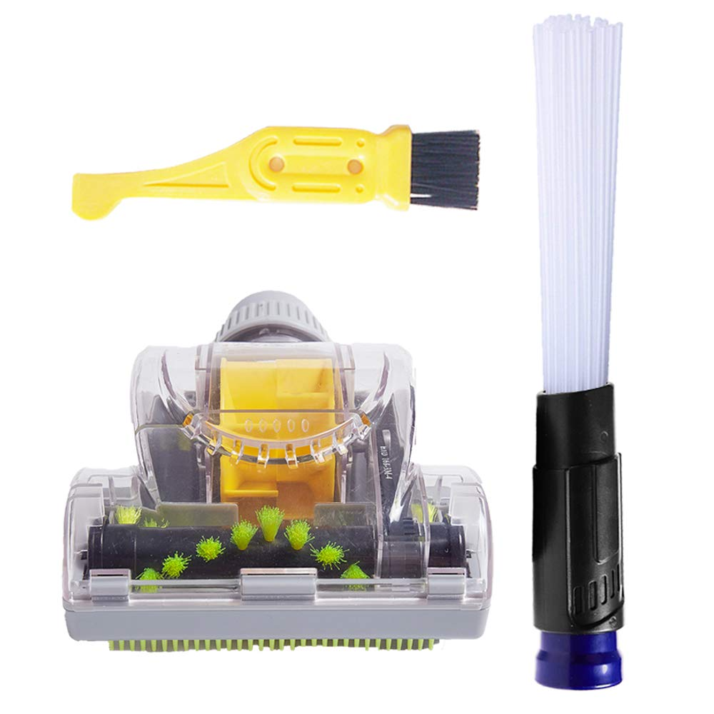 ECOMAID Dust Cleaning Sweeper - Vacuum Brush Attachment to Remove Dust and Dirt from Cars, Furniture, Corners,Jewellery, Plants Shop Vac Accessories