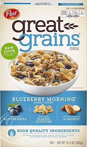 Post Selects Blueberry Morning Cereal 13.5 oz