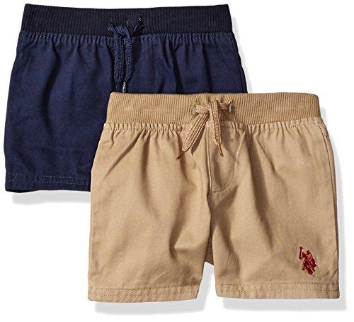 U.S. Polo Assn. Baby Boys 2 Pack Short