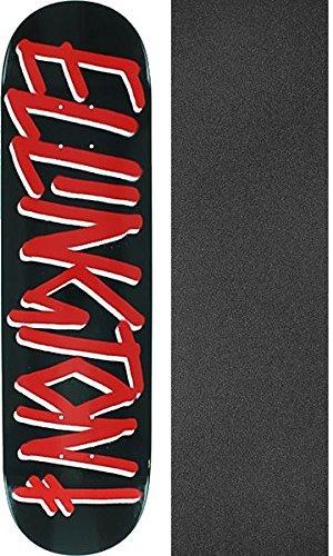 過敏なインポート関連付けるDeathwish Skateboards Erik Ellington Gang Nameブラック/レッドスケートボードデッキ – 8.12