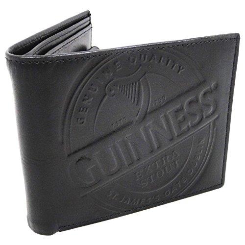 Guinness Étiquette Portefeuille Étiquette Noir Cuir Guinness 1qO1SrY