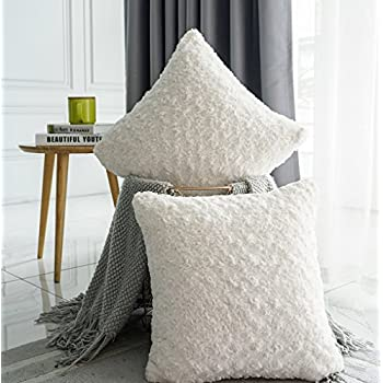 Amazon.com: Top Finel Square Decorative Throw Pillow Covers ...