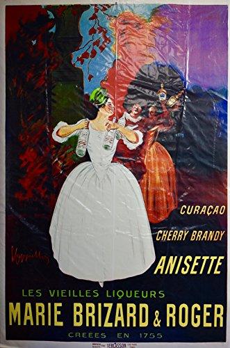 Leonetto Cappiello Artork - Marie Brizard & Roger - Les Vieilles Liqueurs - 24x36 Poster Print - Collectible ()
