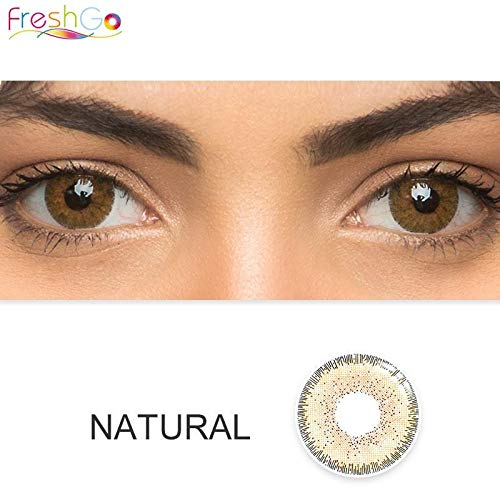 Lookgid Multi-Color Cute Contact Lenses Color Blends Cosplay Eyes Cosmetic Makeup Eye Shadow (A Pair)