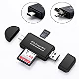 BeFound USB-C OTG Multi-Function SD/Micro SD Card Reader for Smart Phone Tablet PC Macbook with Type C USB 2.0 Micro USB 2.0 Male Connector