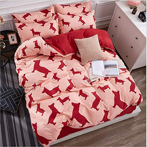 SSHHJ King Queen Full Twin Size Bedding Set Duvet Cover Sets Duvet Cover Pillowcase F 220x240cm ()