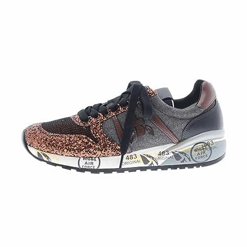 Zapatillas Sport Glitter Bronce Premiata Diane 2522: Amazon.es: Zapatos y complementos