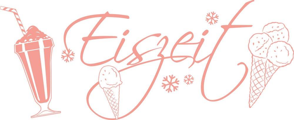 GRAZDesign Wandtattoo Küche Eiskugel Eiskugel Eiskugel - Wanddeko Sommer - Wandtattoo für Eisdiele   139x57cm   620524_57_092 B01M1L2ERW Wandtattoos & Wandbilder aae4ae