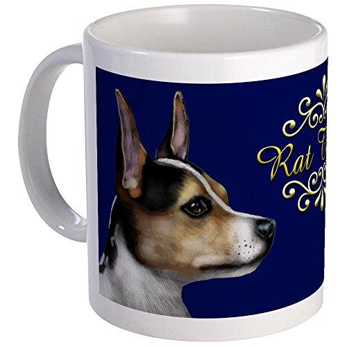 CafePress RAT TERRIER DOG Mug Unique Coffee Mug, Coffee Cup