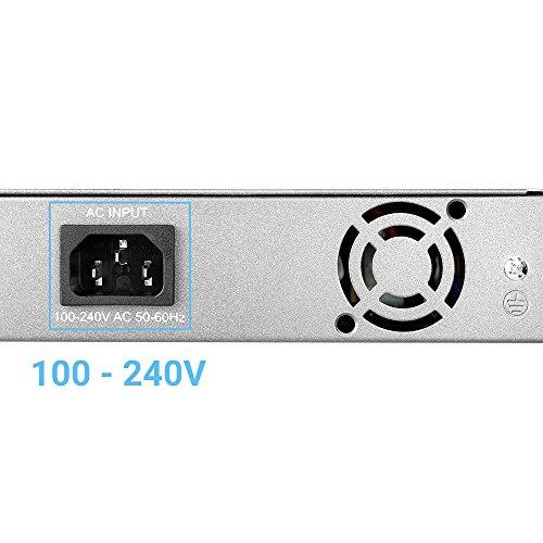 BV-Tech 18 Port PoE+ Switch (16 PoE+ Ports | 2 Gigabit Ethernet uplink) – 130W – 802.3at by BV-Tech (Image #5)