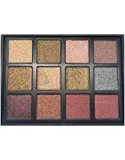 Eyeshadow palette from VOOX 12 shiny colors