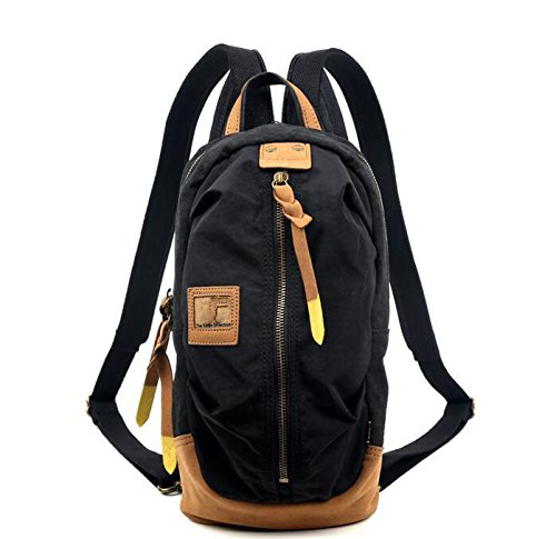 Canvas Backpack, men's bag, outdoor sports backpack, multifunctional leisure bag by KYXXLD