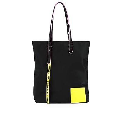 Karl Lagerfeld Accessori da Donna Borsa Shopping KNeon Nera