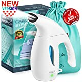 Garment Handheld Portable Steamer for Clothes, Fabrics, Travel– Powerful Professional Compact Light Iron
