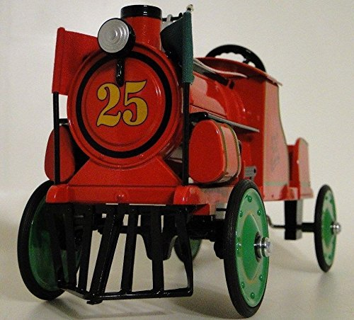 Pedal Trains (High End Collector Pedal Car Rare 1 Train Engine Railroad RXR Vintage Antique Concept Investment Grade Scale Gauge Metal Model N 18 O 24 HO Classic Museum Quality Collectible Not Child Ride On Toy)