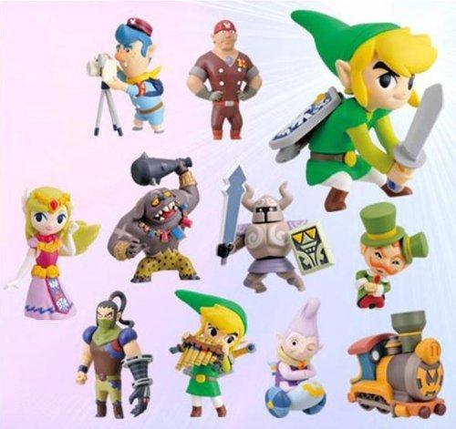 Legend of Zelda Spirit Tracks 2 Inch PVC Set of 11 Figures]()
