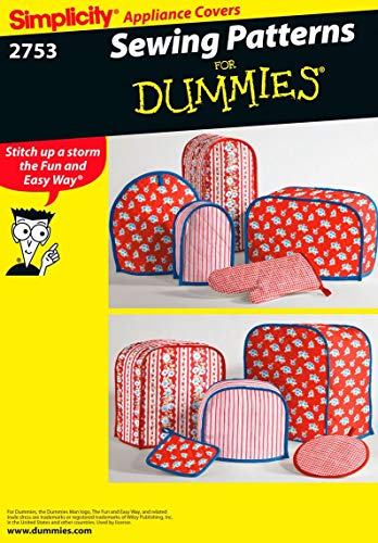 (Simplicity 2753 Appliance Cover Sewing Pattern For Home Decorating by Sewing Patterns for Dummies, One)