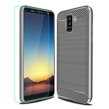 Amazon.com: Carcasa para Samsung Galaxy A6 Plus 2018 con ...