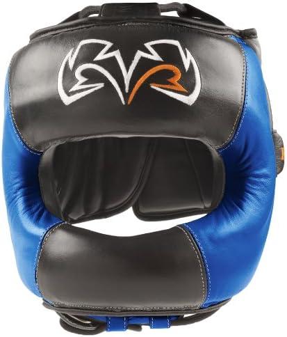 Rival Boxing面ガードHeadgear – ブラック/ブルー  Medium
