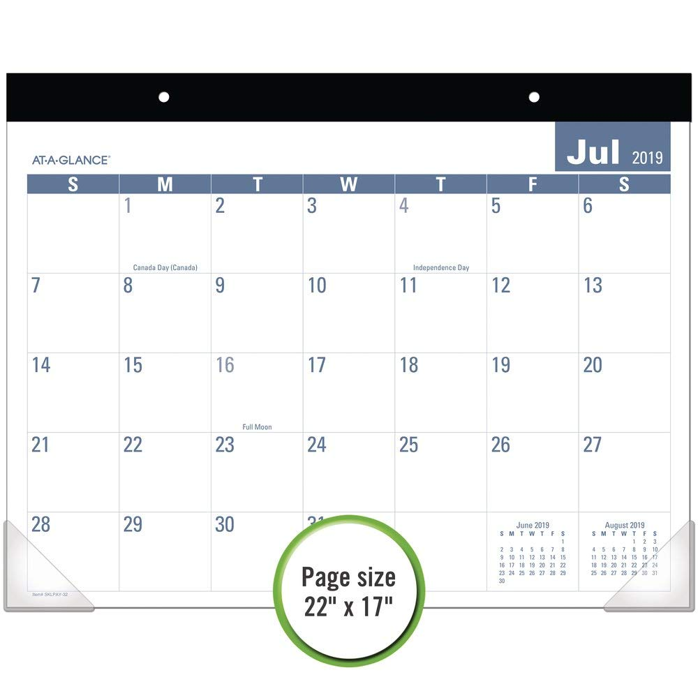 New Edition Concert Schedule 2020 Amazon.: AT A GLANCE 2019 2020 Academic Year Desk Pad Calendar