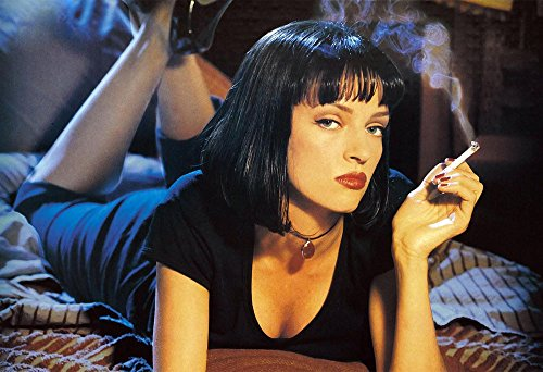 Uma Thurman Poster Wall Decoration Pulp Fiction