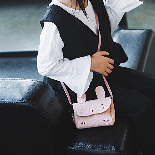 Mini Filles Bébé Cabina Bandoulière Messenger Rose Sac La Main Bag À Enfants Épaule Crossbody Mignon Rabbit U5AwxW8z